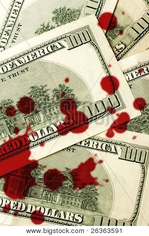 corruption dollars background, effects of the greed