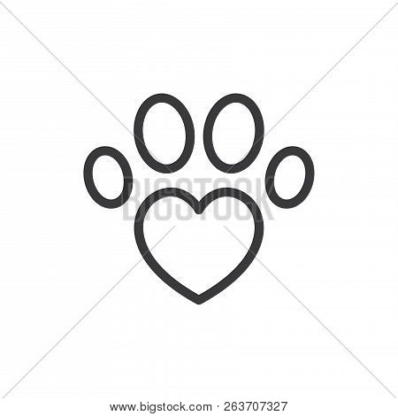 Pet Vector Icon On White Background. Pet Icon In Modern Design Style. Pet Vector Icon Popular And Si
