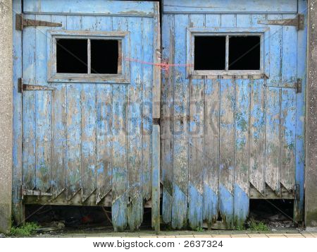 Rotted Garage Doors