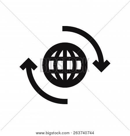 World Wide Icon Isolated On White Background. World Wide Icon In Trendy Design Style. World Wide Vec