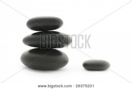 Spa. Massage stones.