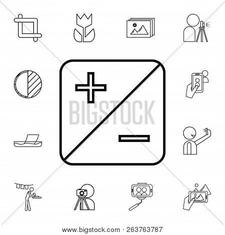 exposition icon. Detailed set of photo camera icons. Premium quality graphic design icon. One of the collection icons for websites, web design, mobile app poster
