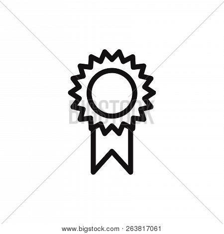 Award Icon Isolated On White Background. Award Icon In Trendy Design Style. Award Vector Icon Modern