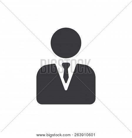 Manager Vector Icon On White Background. Manager Icon In Modern Design Style. Manager Vector Icon Po