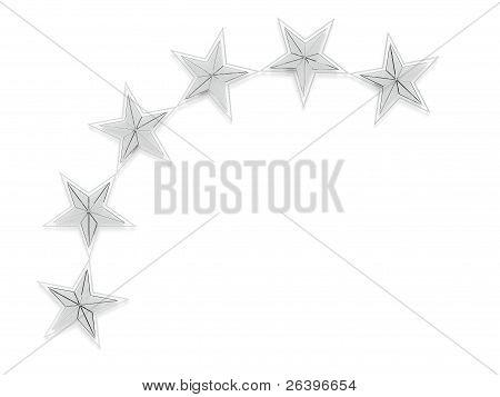 3D Ice Glass Stars