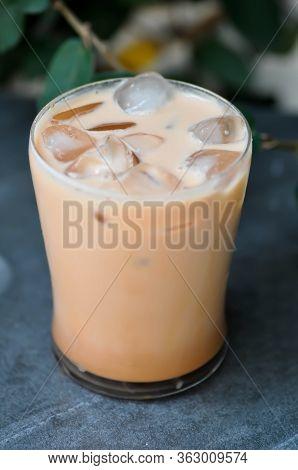 Milk Tea Or Iced Tea, Iced Milk Tea