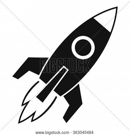 Campaign Rocket Icon. Simple Illustration Of Campaign Rocket Vector Icon For Web Design Isolated On