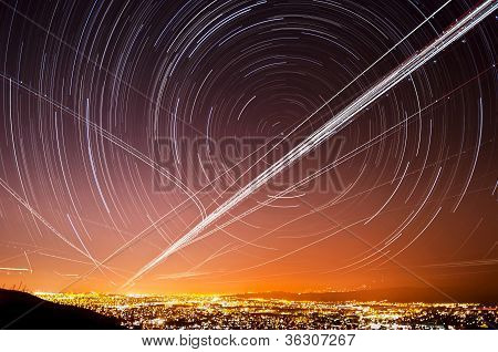 San Jose Star Trails