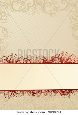 Vector Light Floral Wallpaper