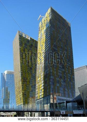 Las Vegas, Nevada, Usa  - November 11:  Waldorf Astoria Hotel Citycenter Complex 2012