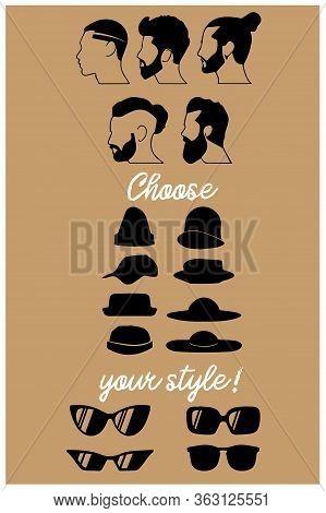 Guy Boy Man Men Hat Hairstyle Hairdo Hair Glasses  Watercolor Wallpaper Background Beautiful Cool