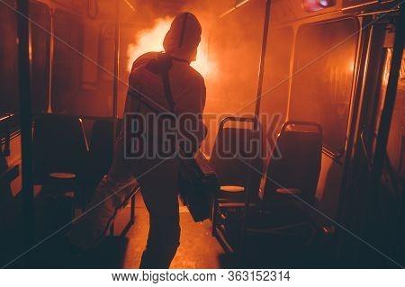 Public Transport Disinfection Protection Inside Process Hazard