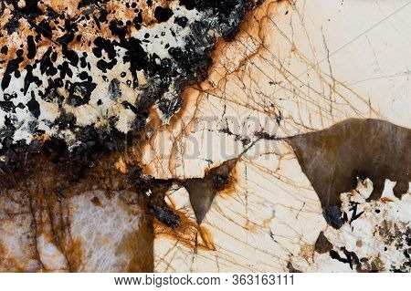 Precious Stone Texture Background. Natural Quartzite Background.