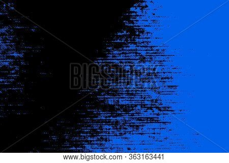 Abstract Background. The Combination Of Blue And Black. Color Transitions. Template For Presentation