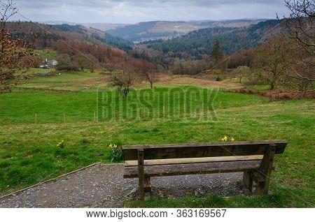View Across Snowdonia From Ty'n Llwyn