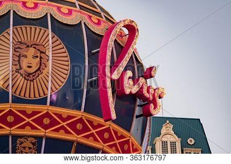 Paris Balloon Las Vegas, Las Vegas Nevada Usa, March 30, 2020