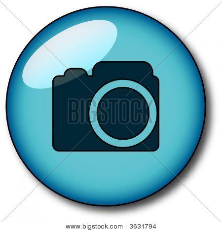 Aqua Btn Camera  Blue.