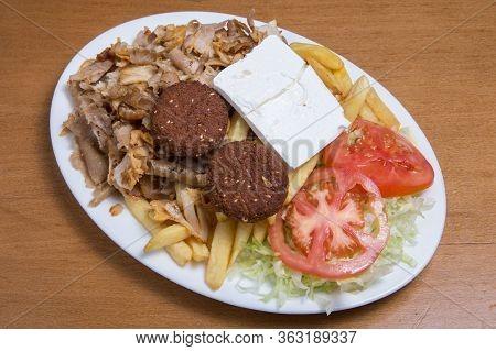 Dish Of Kebab