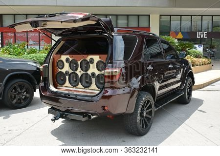 Pasay, Ph - May 26 - Toyota Fortuner With Sound System At Toyota Carfest On May 26, 2019 In Pasay, P