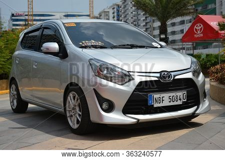 Pasay, Ph - May 26 - Toyota Wigo At Toyota Carfest On May 26, 2019 In Pasay, Philippines.