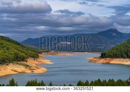 Tranco De Beas Reservoir In Sierra De Cazorla Segura And Las Villas Natural Park, Jaen Province, And