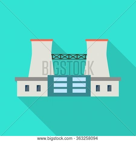 Isolated Object Of Warehouse And Import Symbol. Collection Of Warehouse And Logistics Vector Icon Fo