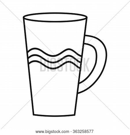 Vector Design Of Pitcher And Jug Logo. Graphic Of Pitcher And Clay Stock Symbol For Web.