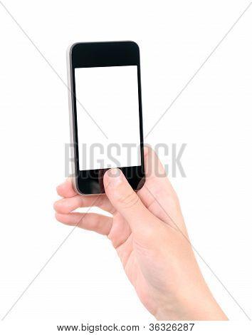 Taking Photo On Apple Iphone
