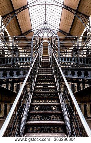 Ireland Dublin Jan 21 2017 Interior Of Kilmainham Gaol (irish: Príosún Chill Mhaighneann)