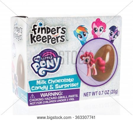 Winneconne,  Wi - 26 April 2020:  A Package Of My Little Pony Finders Keepers On An Isolated Backgro