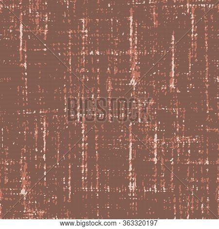 Canvas Seamless Vector Woven Texture Pattern With Crossing Irregular Lines In Three Colors For Fabri