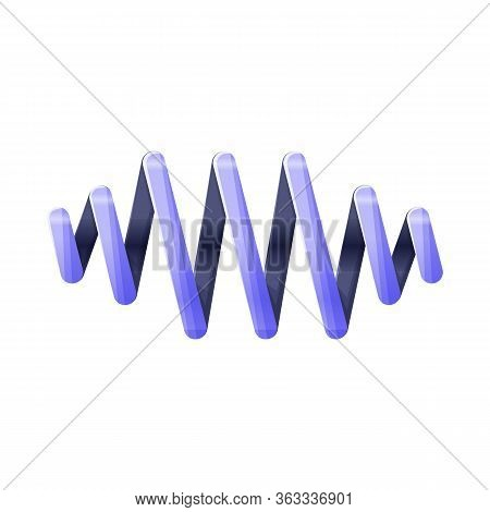 Vector Illustration Of Coil And Metal Icon. Web Element Of Coil And Detail Stock Vector Illustration