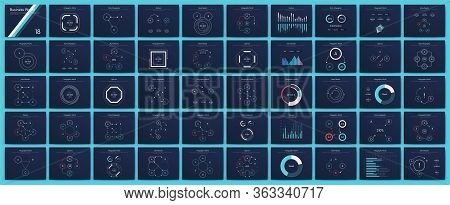 Big Set Of Infographics Elements. Eps10. Stock Vector