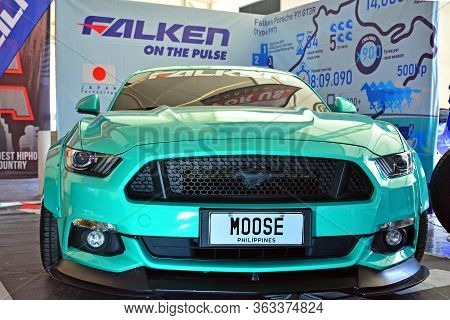 Pasig, Ph - May 13 - Ford Mustang At Hot Import Nights Car Show On May 13, 2018 In Pasig, Philippine