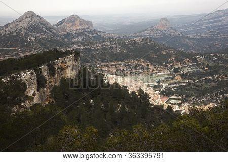 Los Ports Park Natural. Tarragona Province. Spain