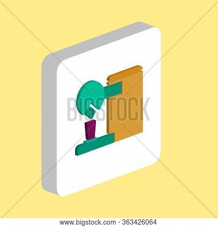 Coffee Maker Simple Vector Icon. Illustration Symbol Design Template For Web Mobile Ui Element. Perf
