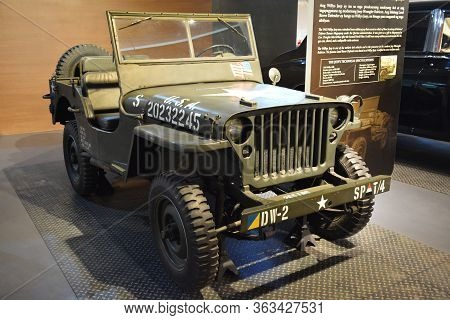 Quezon City, Ph - Apr. 28: 1943 Willy's Jeep Display At Presidential Car Museum On April 28, 2019 In