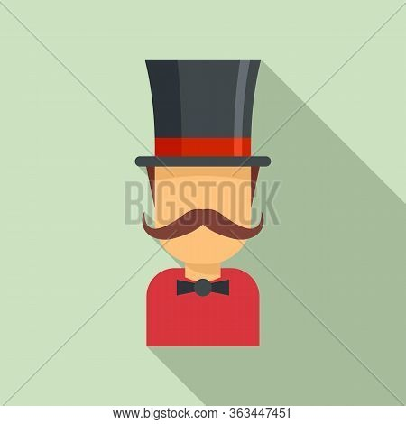 Magician Icon. Flat Illustration Of Magician Vector Icon For Web Design