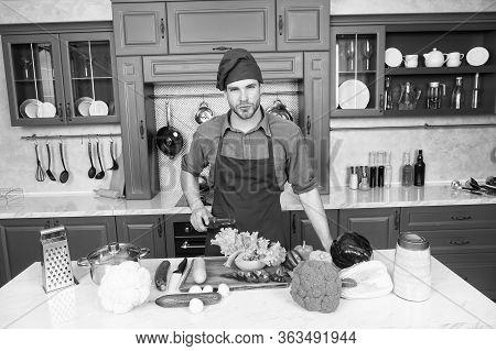 Add To Your Diet. Health Benefits Of Organic Food. Man Pour Wine Vinegar. Secret Ingredient. Chef Co