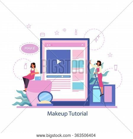 Make Up Online Service. Online Video Tutorial, Make Up Blogging.