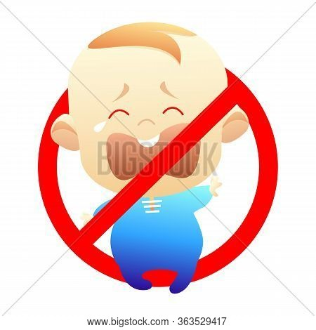 Vector Stock Isolated Childfree Or Voluntary Childlessness. Illustration Icon For Childless By Choic