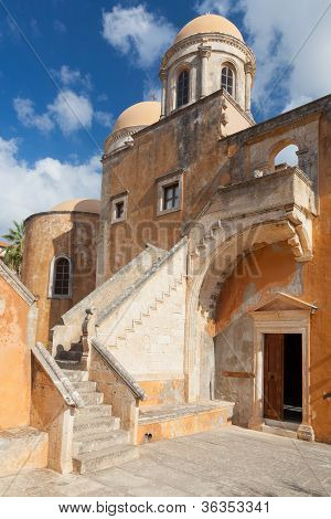 Monastery Of Agia Triada Tsangarolon