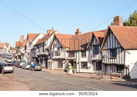 Lavenham High Street