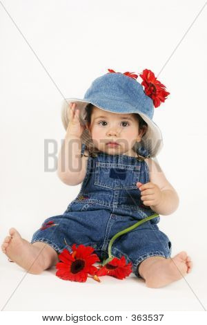 Toddler In Denim