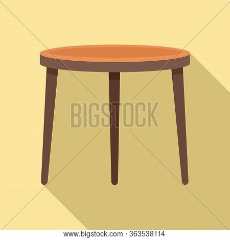 Garden Furniture Icon. Flat Illustration Of Garden Furniture Vector Icon For Web Design