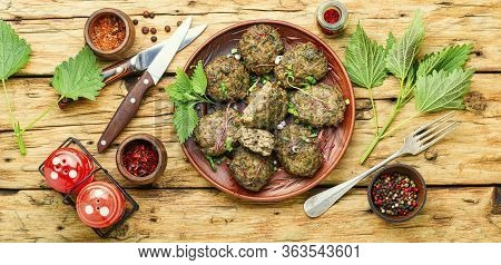 Homemade Fried Cutlets,meatballs