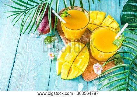 Mango Smoothie Or Juice