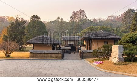 Pyongyang / Dpr Korea - November 10, 2015: Mangyongdae, Birthplace Of Late North Korean Leader Kim I