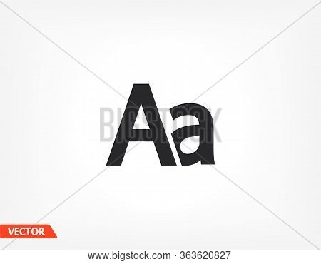 Abc Sign On A White Background, Special Abc, Abc Emblem, Web Icon Vector Icon Abc Alphabet, Letters.