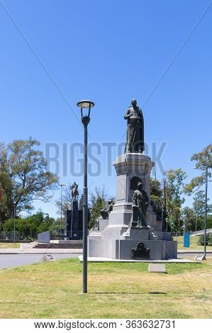 Cordoba, Argentina December 5 Monument Dedicated To Dean Fuens Hero Of The Homeland. The Monument Is